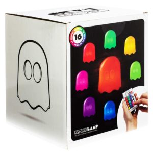 Große Pac-Man Geist LED Farbwechsel Lampe
