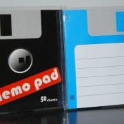 diskette notizblock