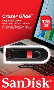 USB-Stick 128 GB SanDisk Cruzer Glide