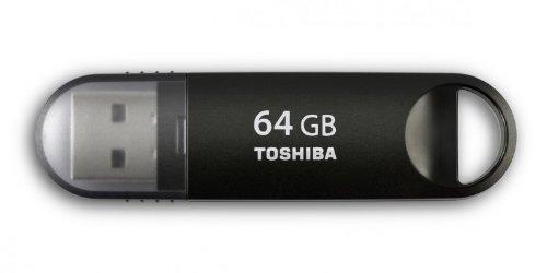 Toshiba 64GB USB3.0 Suzaku schwarz