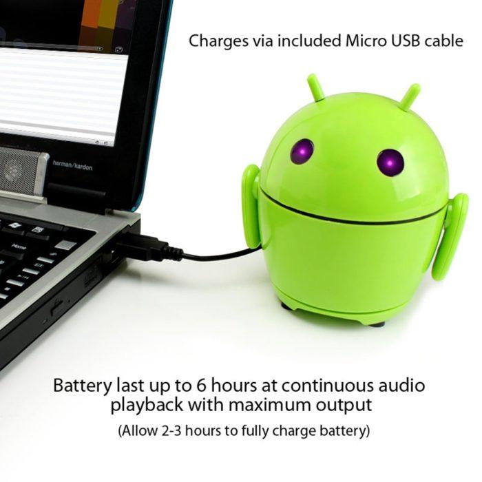 Tragbarer Lautsprecher Laden via USB