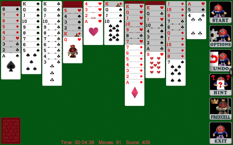 Spider Solitaire android