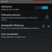 Adblock Plus unter Android installieren