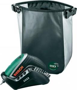 Bosch IXO Active Akkuschrauber + Active-Tasche