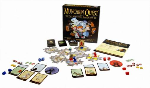 Munchkin Quest Brettspiel (Pegasus - 51950G)