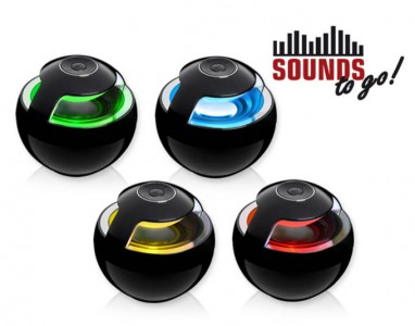 SOUNDS - to go! 360° Bluetooth Sound System