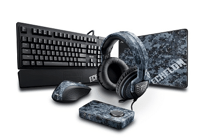ESL Bundle 3: Asus Echelon Headset, Keyboard, Maus, Mauspad