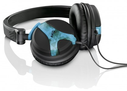 AKG K 518 DT On-Ear-DJ-Kopfhörer delta blau