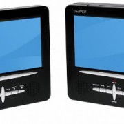 Denver MTW-745 TWIN tragbarer DVD-Player