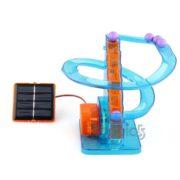 Solarbetriebene Achterbahn/murmelbahn
