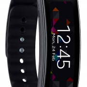 Samsung Gear Fit Smartwatch - Schwarz