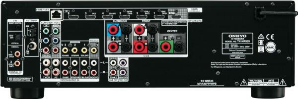 Onkyo TX-NR535 B 5.2-Kanal AV-Netzwerk-Receiver HDMI 2.0