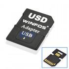 MicroSD/SD Karten Adapter auf USB