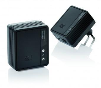 One for All SV 2020 Powerline Internet zu TV-Link Adapter (500Mbps)