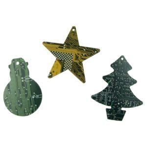 Leiterplatten Weihnachtsschmuck