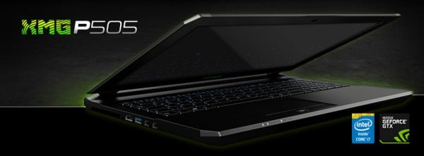 Schenker XMG P505-9UV PRO Gaming Notebook