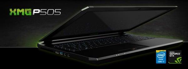 Schenker XMG P505-9UV PRO Gaming Notebook