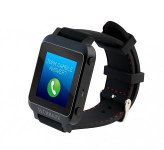 TECHNAXX Smart Watch TX-26 [für Android ab 4.3 und iOS ab 7.0]
