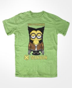 Wolverminion t-shirt minion wolverine