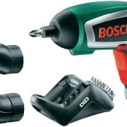 Bosch IXO IV Upgrade Set (inkl. Winkel- u. Exzenteraufsatz) + 10 Standard-Schrauberbits