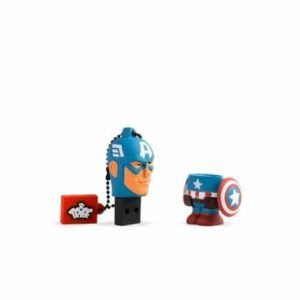 Tribe FD016503 Disney Marvel The Avengers Pendrive Figur usb Stick  Thor, Captain Amerika, Hulk, Spiderman und Ironman