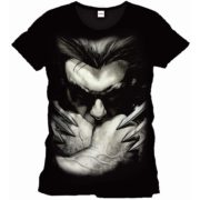 Marvel Comics Wolverine Herren Fan T-Shirt - Close-Up