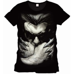 Marvel Comics Wolverine Herren Fan T-Shirt - Close-Up