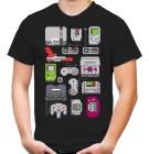 8 Bit Konsolen T-Shirt  