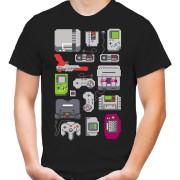 8 Bit Konsolen T-Shirt |