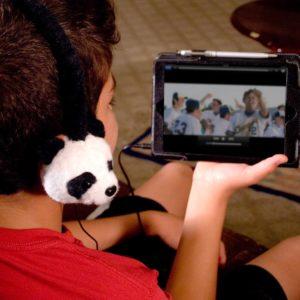 GOgroove Pandabär Kopfhörer
