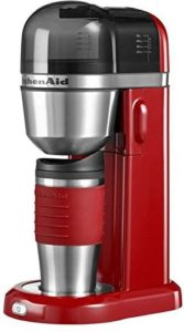 KitchenAid Personal Coffee Maker Empire Rot (5KCM0402EER)