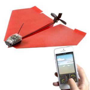 powerUp 3.0 Smartphone gesteuerter Elektrobausatz für Papierflugzeuge