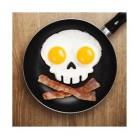 Funnyside UP Skull Egg Shaper Totenkopf Spiegeleier Form