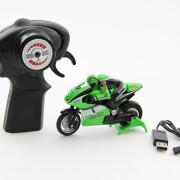 XciteRC Motorrad Mini-Racebike grün