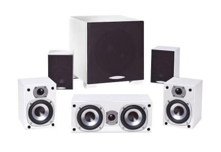 quadral ARGENTUM 4000 5.1 Lautsprecher-System weiß