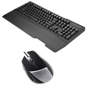 Cooler Master Storm Trigger Z MX Brown Gaming Keyboard + Cooler Master Storm Reaper Gaming Maus