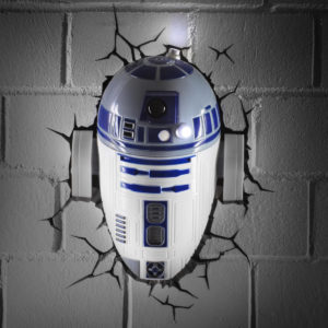 Star Wars 3D LED Wandlampen