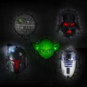 Star Wars 3D LED Wandlampen