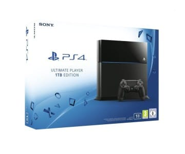 PlayStation 4 - Konsole Ultimate Player 1TB Edition