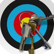 Das magnetische Zielscheibe Schlüsselbrett
