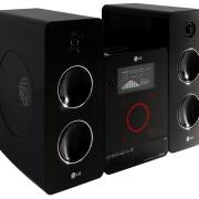 LG FA 162 Kompaktanlage (2x80 Watt, CD, MP3, WMA, USB) schwarz