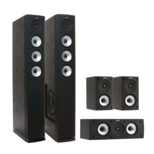 Pioneer VSX-930-K Receiver + die 5.0 Lautsprecher Jamos S 628 HCS