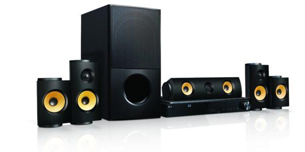 LG LHA825 5.1 3D Blu-ray Heimkinosystem