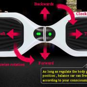 Q3 4400mAh Dual Wheels Self Balancing Eco - friendly Electric Scooter