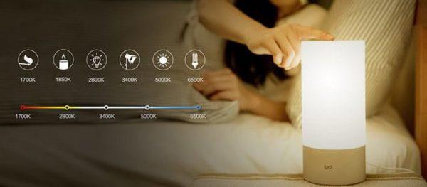 Xiaomi Yeelight led lampe osram