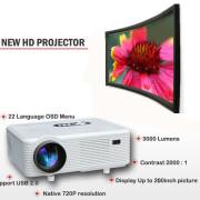Excelvan CL720D LED Projector