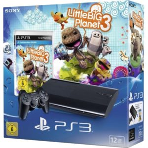 PlayStation 3 ps3  + Little Big Planet 3 + DualShock 3 Controller