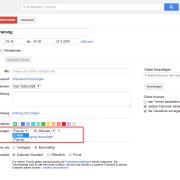 Google Calendar: Erinnerung hinzufügen