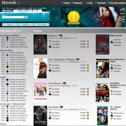 Die Movie4k Startseite (Stand 21.09.2015)