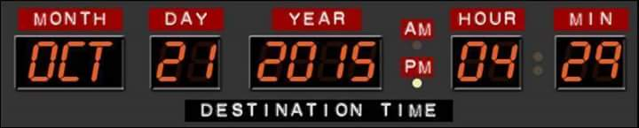 time  Back to the Future III